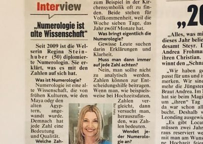 Interview zur Numerolgoie - Krone